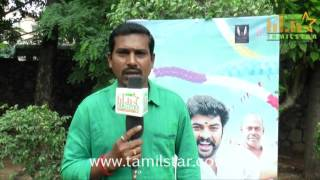 M G Murugan At Anjala Movie Audio Launch