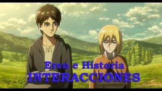 Eren e Historia | Interacciones | Attack on Titan