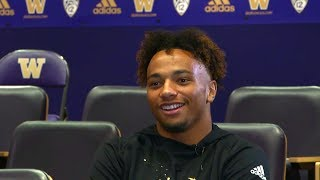 From walk-on to Saturday starter: Myles Bryant's path to UW football stardom
