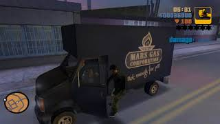 "GTA Vice City: Liberty City Mod   ""Van Heist"" mission   GTA 3 on Vice City's Engine   1080p"