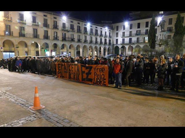 Madrileko epaiketaren aurkako mobilizazioa. 2015 urtarrila