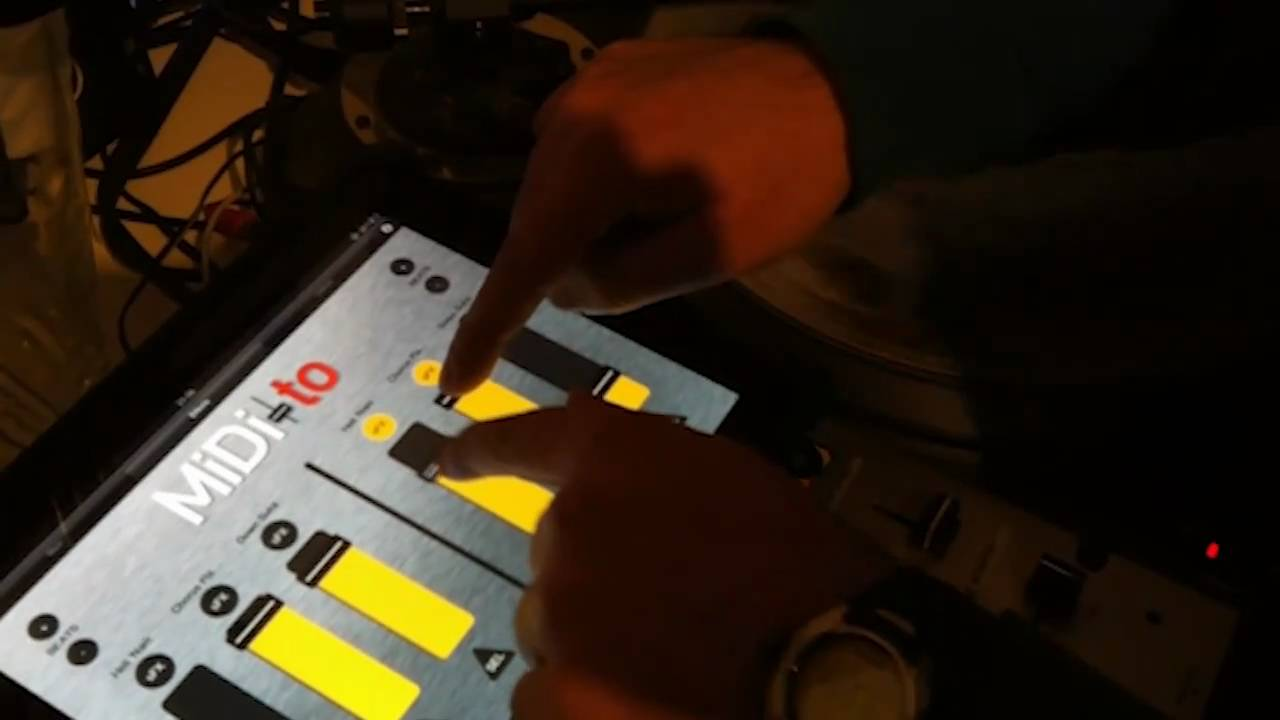 Ipad Serato Controller Midi to Ipad Controller For