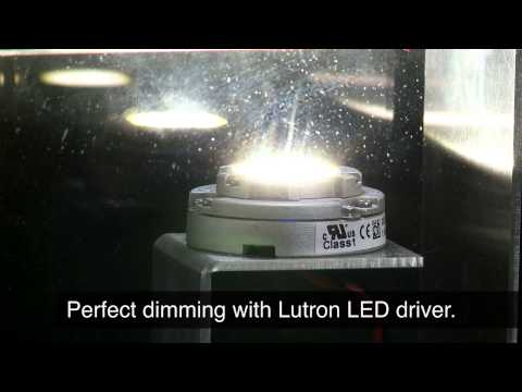 Lutron LED drivers – Guaranteed dimming...