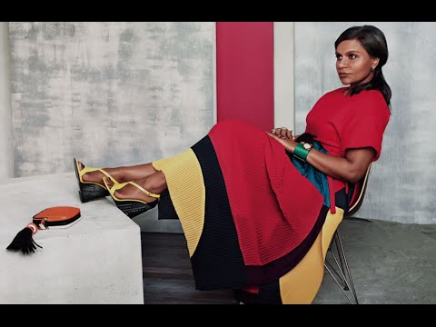 Behind the Scenes at Mindy Kaling's InStyle Shoot with the Star Herself | InStyle