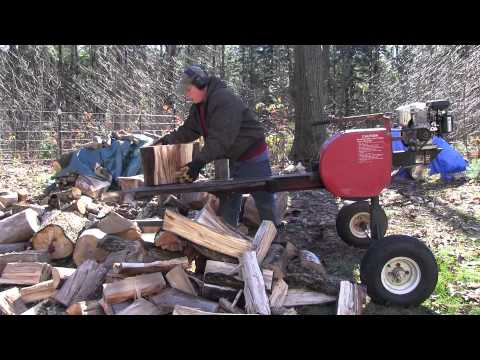 Super Split Wood Splitter Demonstration