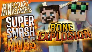Minecraft Minigames - Super Smash Mobs - Bone Explosion