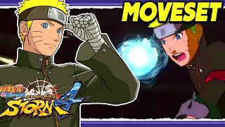 Naruto THE LAST Complete Moveset Ultimate Jutsu Awakening Gameplay | Naruto Ultimate Ninja Storm 4