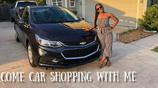 Come Car Shopping With Me