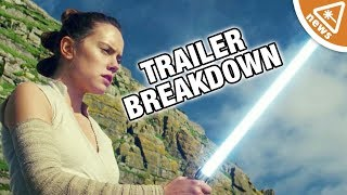 Star Wars The Last Jedi Trailer Breakdown! (Nerdist News w/ Amy Vorpahl)