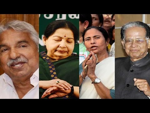 Opinion Polls || Win for Mamata, lead for Jaya, Kerala to LDF, Assam to NDA