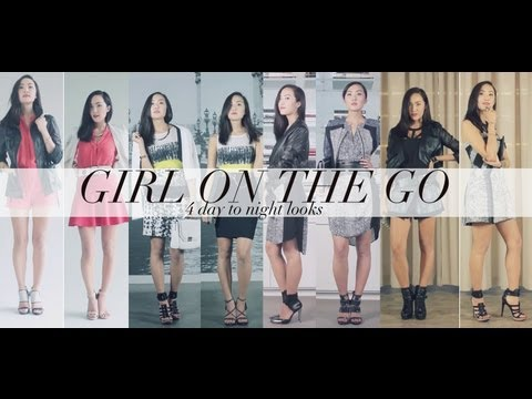 GIRL ON THE GO- 4 BCBG Day Into Night Transformations