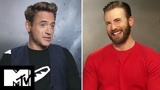 Avengers: Age of Ultron Cast Play Would You Rather? | MTV