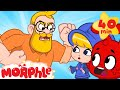 Oh no! Morphle makes daddy angry! (But they make up in the end) Morphle cartoons for kids