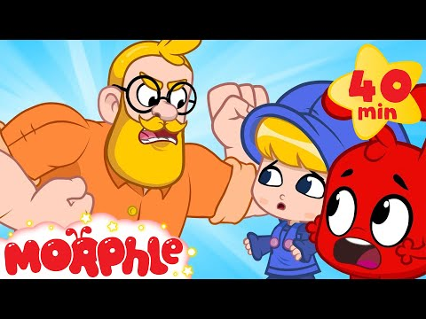 Oh no! Morphle makes daddy angry! (But they make up in the end) Morphle cartoons for kids MP3