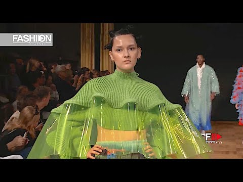 SWEDISH SCHOOL OF TEXTILES #3 Spring Summer 2019 Stockholm - Fashion Channel