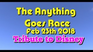anything goes Race 2018 02 23  Tribute to Disney