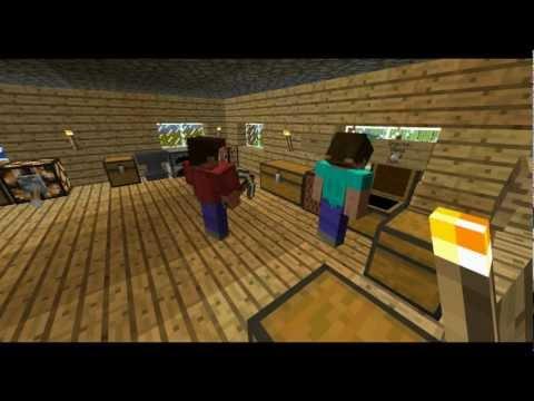 Herobrine's Return Episode 1 (Minecraft Machinima)