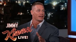 John Cena Was A Bouncer