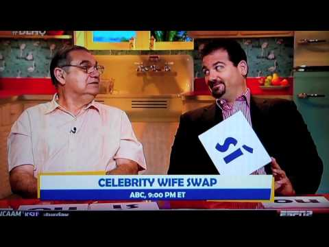 Dan LeBatard is Highly Questionable: Celebrity Husband Swap