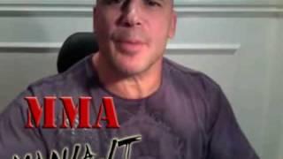 Bas Rutten saluta MMA Mania.it