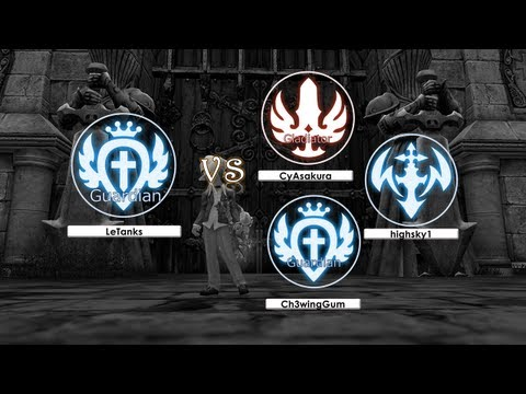 LeTanks (Guardian) vs Gladiator. Guardian & Inquisitor - Dragon Nest SEA ~!