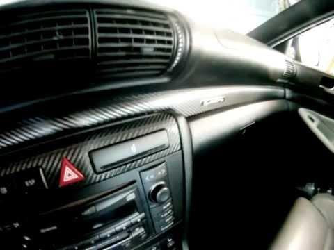 Platinum Detailing Denver Interior trim wrap carbon fiber 3M 1080