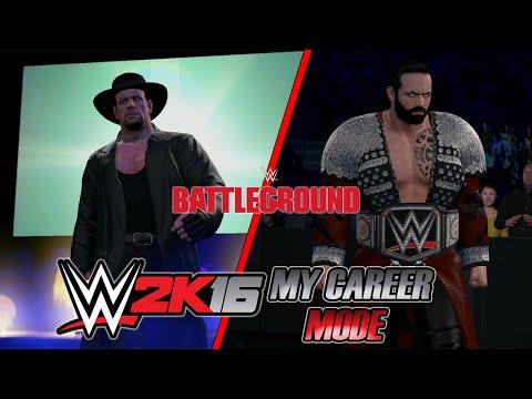 WWE 2K16 - My Career - #182 - Battleground PPV III: Mago vs Taker