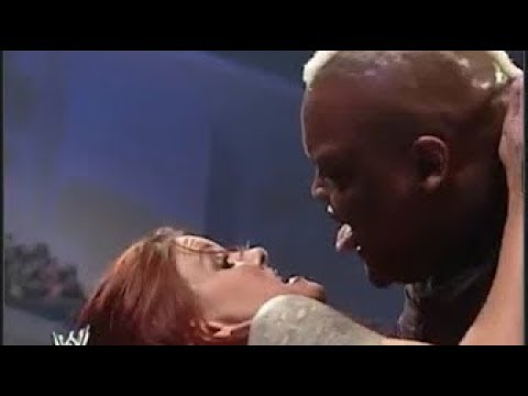 WWE Viscera and Trish Stratus vs Kane and Lita Backlash 2005