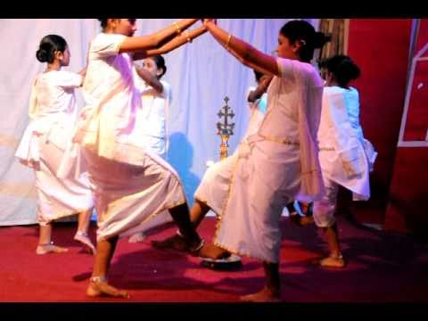 Margam Kali Kerala Christians Traditional Dance video