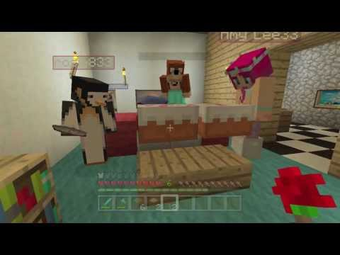 Minecraft Xbox - Amy's Surprise Birthday Party!