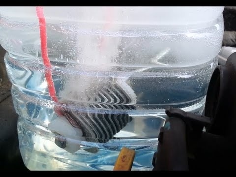 HHO Hydrogen Fuel Cell Car Conversion DIY Gas Generator Build