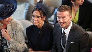 Beckhams, Oprah, Elton John, Idris Elba and more arrive for royal wedding