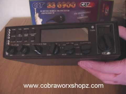COBRAWORXSHOPZ SUPERSTAR SS6900 SS-6900 10m Amateur Multimode Transceiver