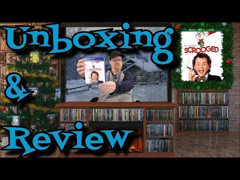 Scrooged Blu Ray Unboxing And Review (1988) - Comedy - Drama - Fantasy -
