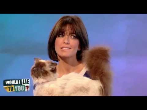 Possession! Claudia Winkleman's dead stuffed pet cat - Would I Lie to You? [HD]