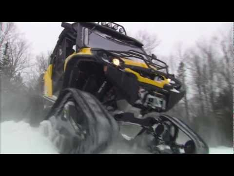 Apache 360 LT Track System for SSV and ATV Can-Am models