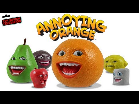Annoying Orange Talking Toy Review