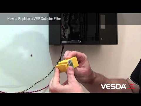 VESDA-E VEP: How to replace the VEP Filter