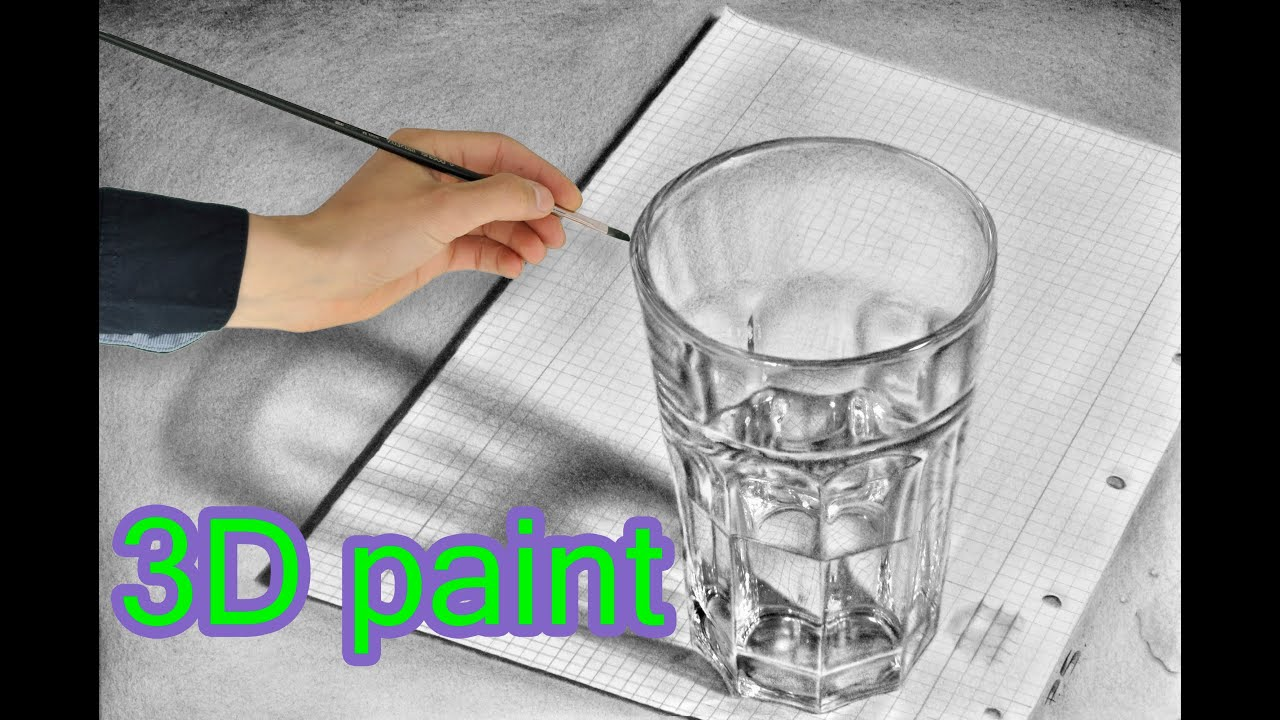 drawing amazing 3d painting illusions speed drawing