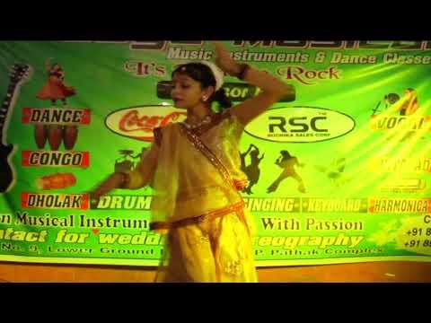 Madhuban Mein Radhika Nache Re   Stu. Nandini Jha   Lasya School of Dance & Music