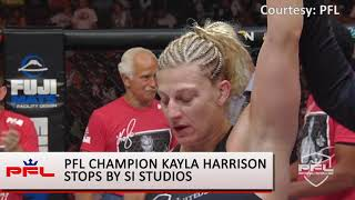 PFL's Kayla Harrison 'I Will Be One of the Greatest'