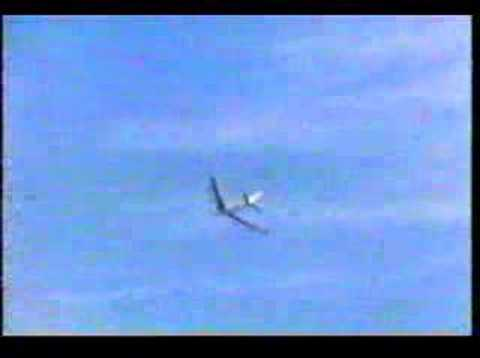 Boeing 707 roll by Test Pilot Tex Johnson