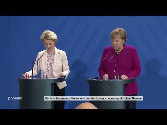 Angela Merkel und Ursula von der Leyen treffen sich in Berlin am 08.11.19