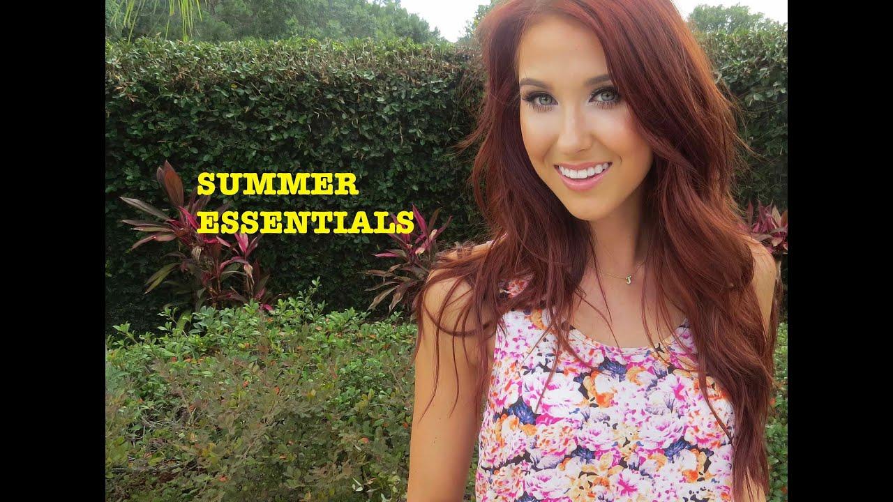 Summer Essentials ♡ Jaclyn Hill Youtube