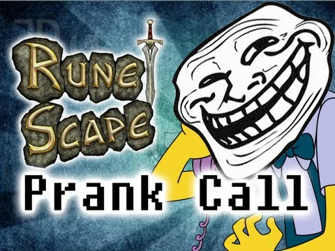 Wood cutting level - Prank call - Lumber Yard (Runescape)