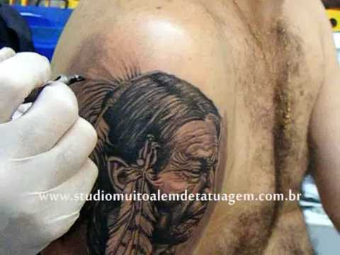 Tags: sioux indian american tattoo brasil dallier realismo body arte novelas