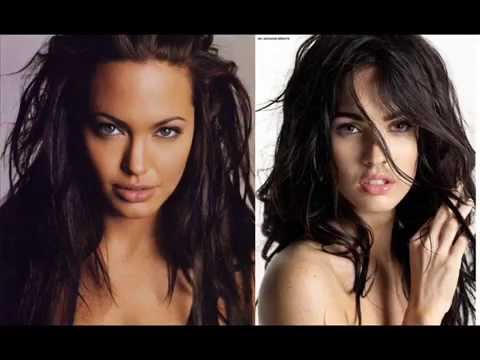 Angelina Jolie Vs Megan Fox video