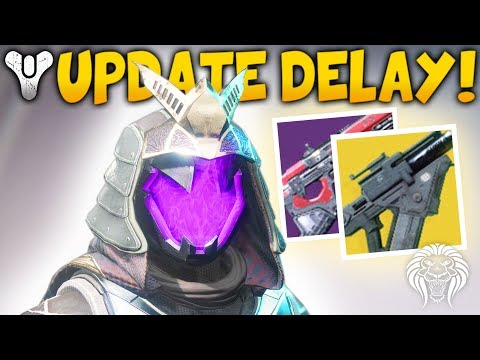 Destiny 2: RUMBLE UPDATE & STRIKE LOOT! Next Patch Info, Buffed Exotics & Delayed Content