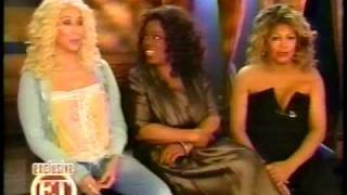 Cher- ET Interview with Tina Turner and Oprah Winfrey (2008) Part 2