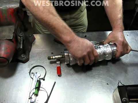 #9 Waste oil heater service / repair Energylogic burner ...